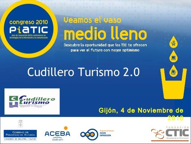 Cudillero turismo 2.0 - Elena Rico para el Congreso PIATIC 2010