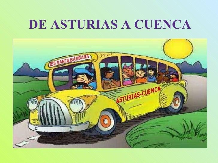 Asturias, ruta literaria de Cuenca 2009