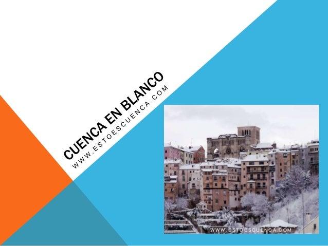 Cuenca y la nieve