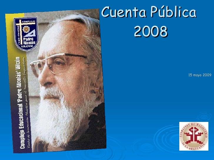 Cuenta  Oficial 2008