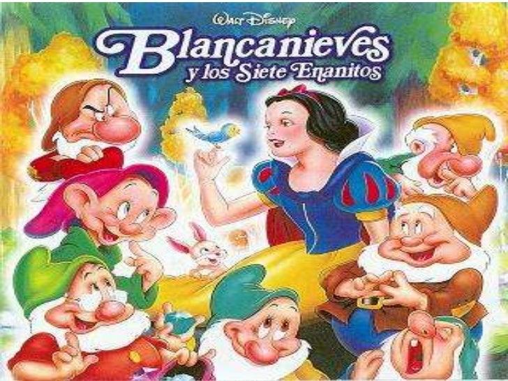 Blancanieves era una jovencita quevivía en un castillo con sumadrastra, quien no la quería.         La madrastra sentía mu...