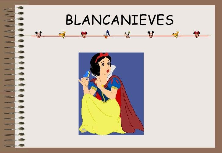 Cuento Blancanieves