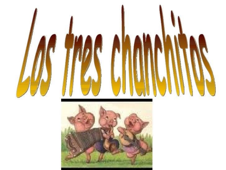 Los tres chanchitos