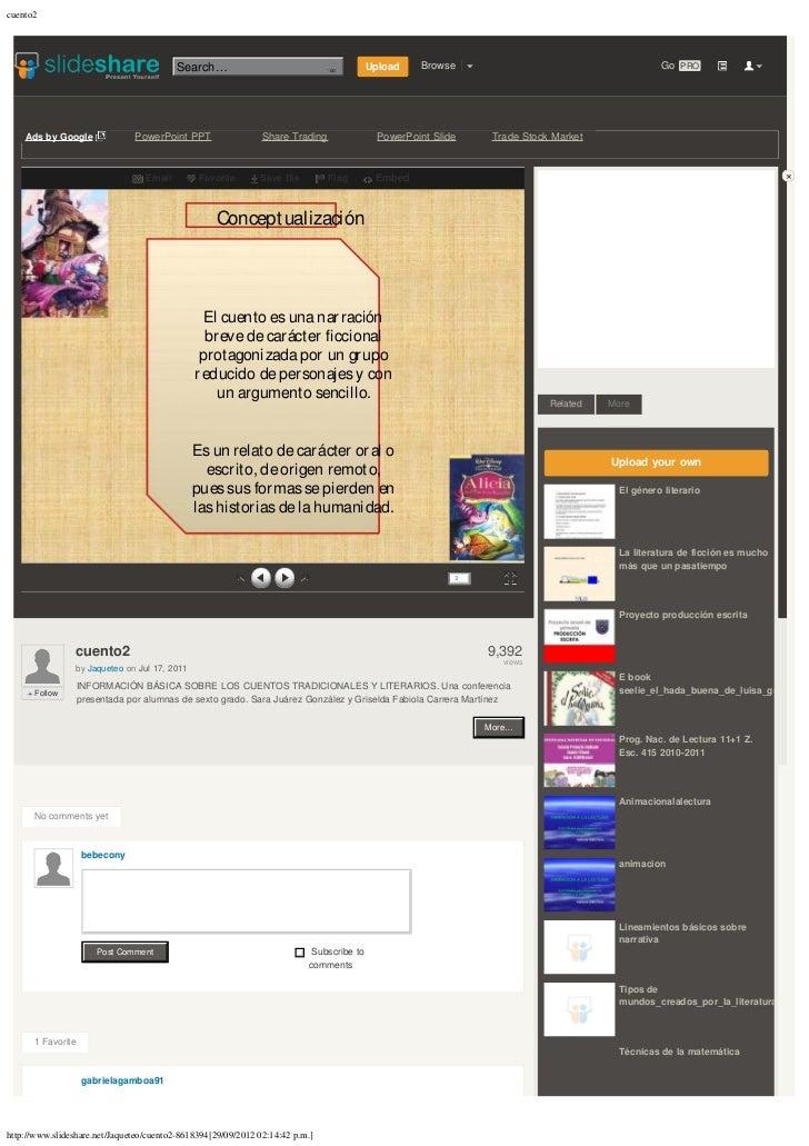 cuento2                                          Search…                          Enviar consulta   Upload    Browse     ...
