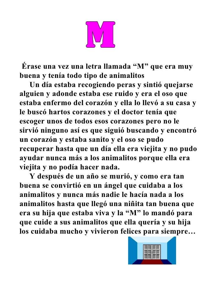 Cuento De La Letra M