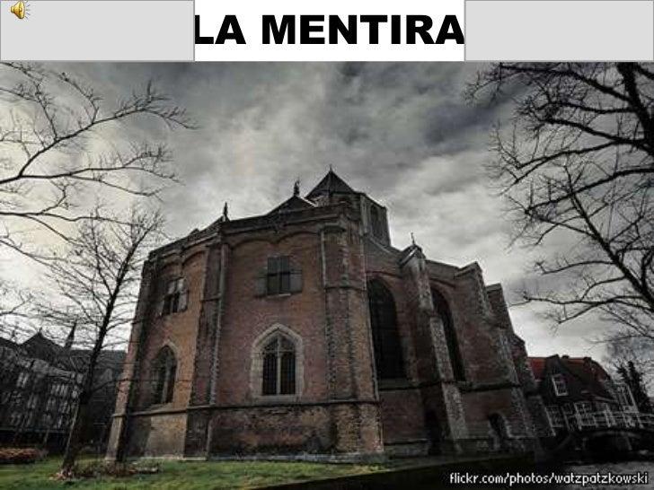 LA MENTIRA