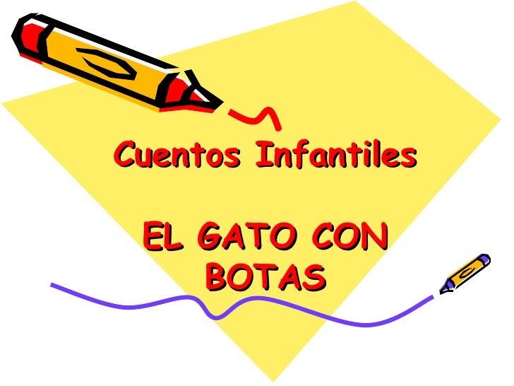 Cuentos Infantiles EL GATO CON BOTAS