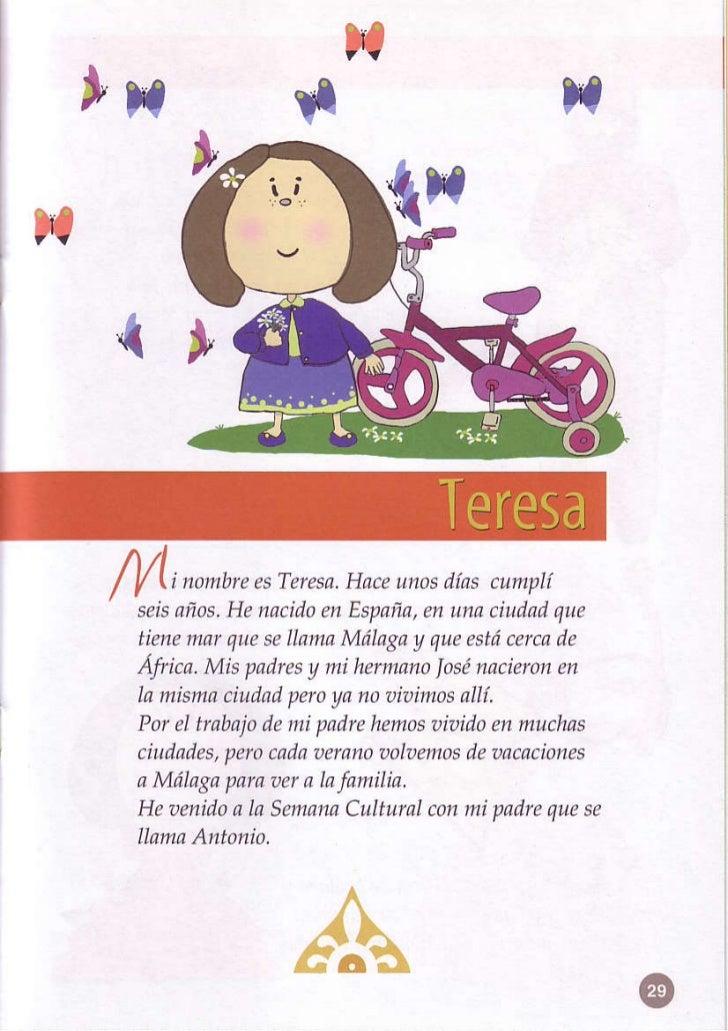 l*n AI/ l/ li nombre Teresa. unos              es      Hace       diascumplí  seís años. nacído España, unaciudnd         ...