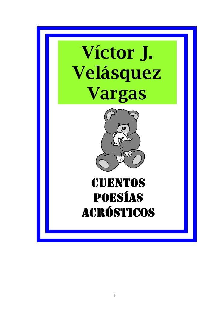Cuentos2008 De Victor Velasquez