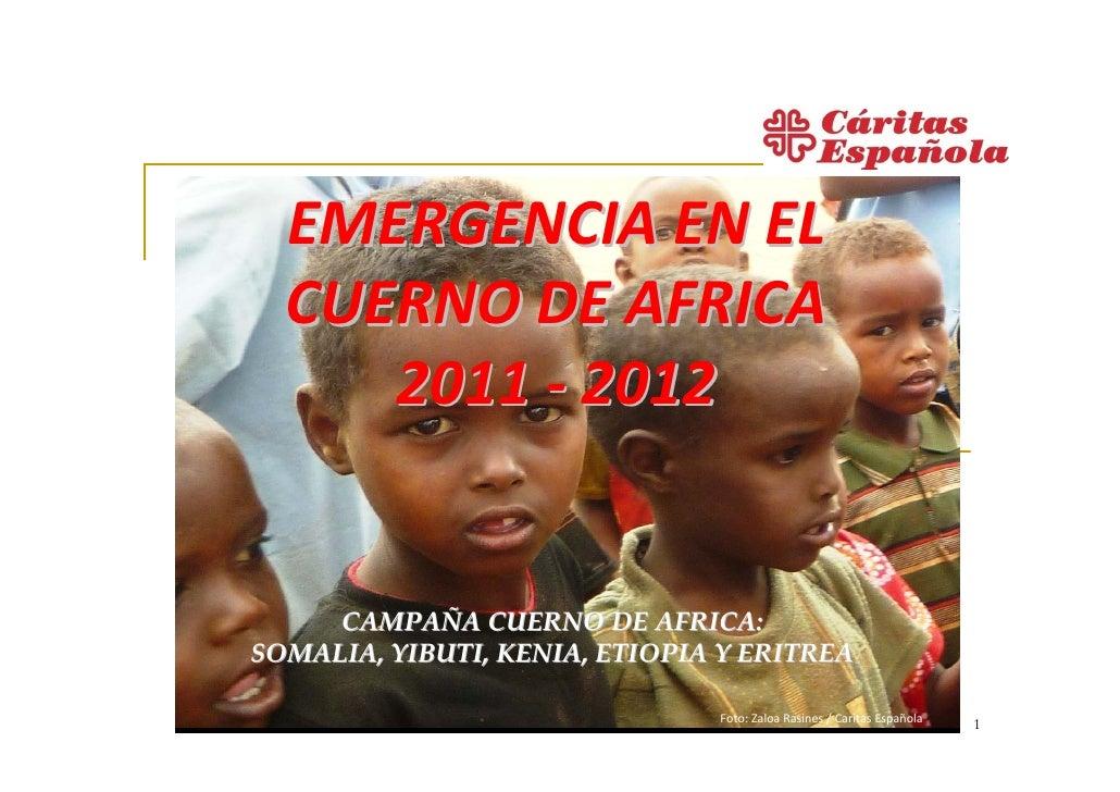 Emergencia en el Cuerno de Africa
