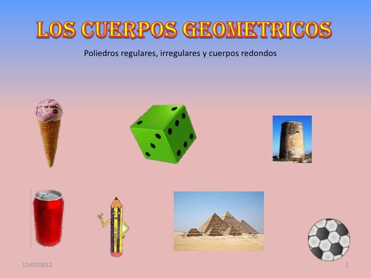 Objetos con forma de solidos geometricos  Imagui