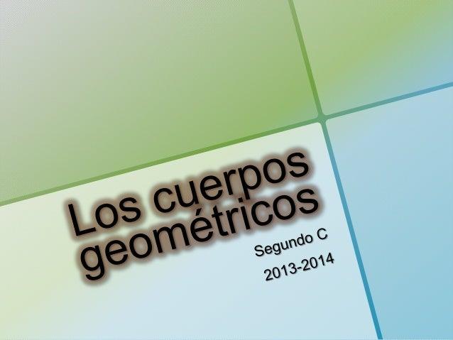 Cuerpos geométricos: poliedros.
