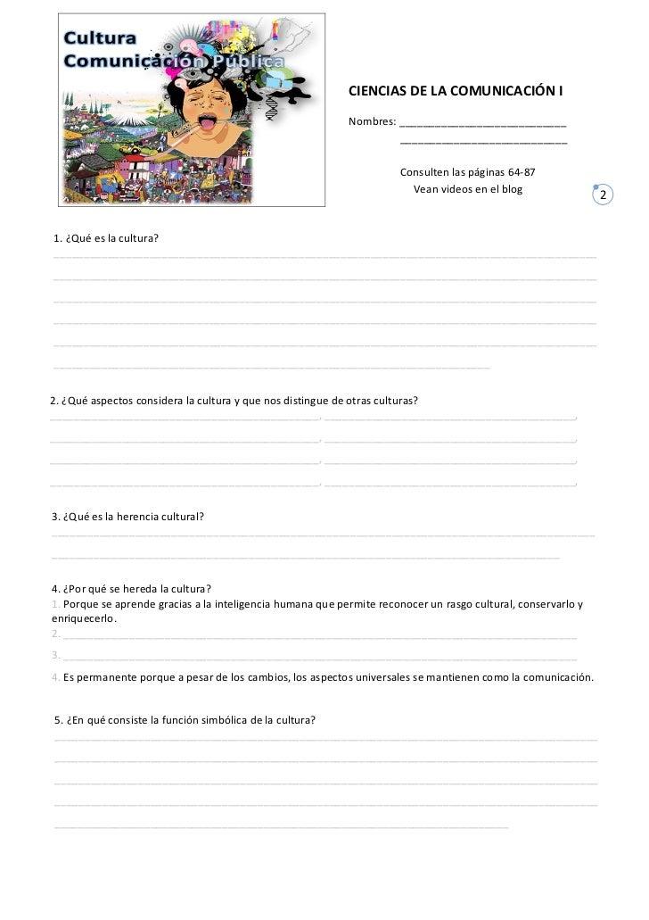 CUESTIONARIO CULTURA COM. PÚBLICA