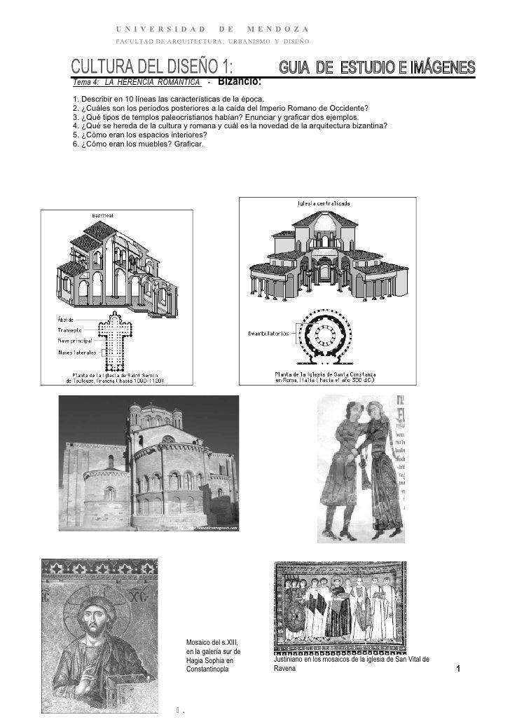Cuestionario guía 2º parcial   bizantino -roman- got