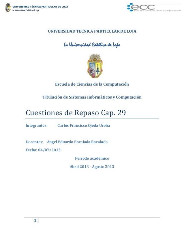 Cuestiones de repaso_capitulo_29