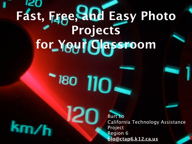 Fast, Free, and Fun Photo Projects for Your Classroom