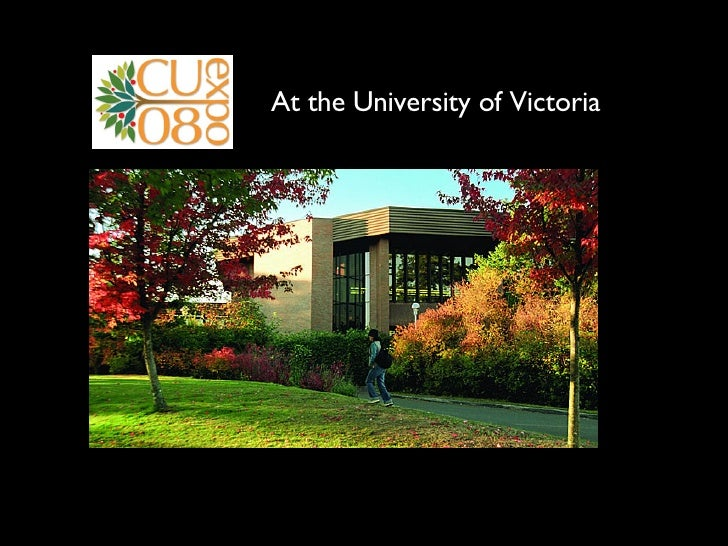At the University of Victoria