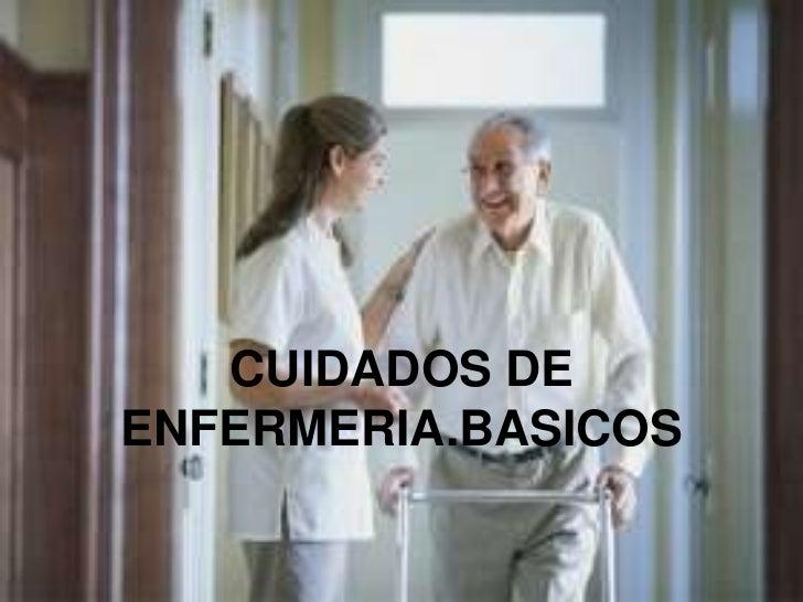 Cuidados de enfermeria,para el adulto mayor