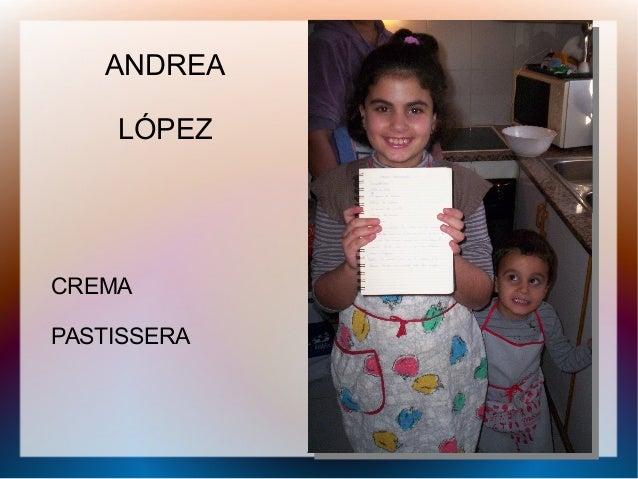 ANDREA LÓPEZ CREMA PASTISSERA