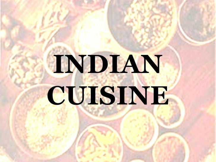 Delicious Indian Cuisine
