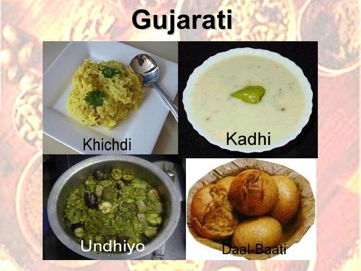 Favorite Food Indian States