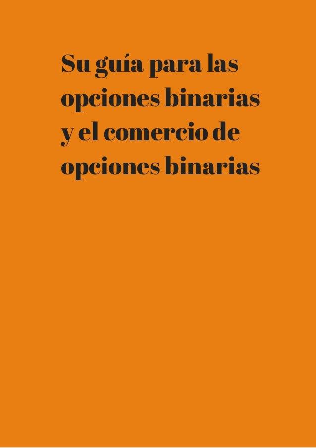 Mejores plataformas para opciones binarias