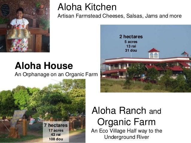 Aloha Ranch andOrganic FarmAn Eco Village Half way to theUnderground RiverAloha HouseAn Orphanage on an Organic FarmAloha ...