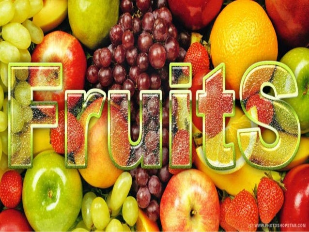 Culinary lecture (fruits)
