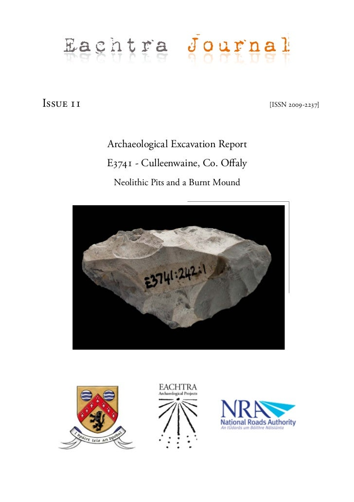 Archaeological Report - Culleenwaine, Co. Offaly (Ireland)