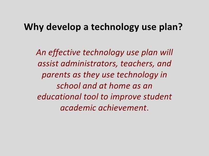 Cullen Tech Plan
