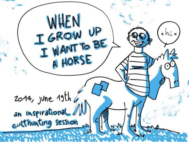 When I Grow Up I Want to Be a Horse - On Storytelling and Games