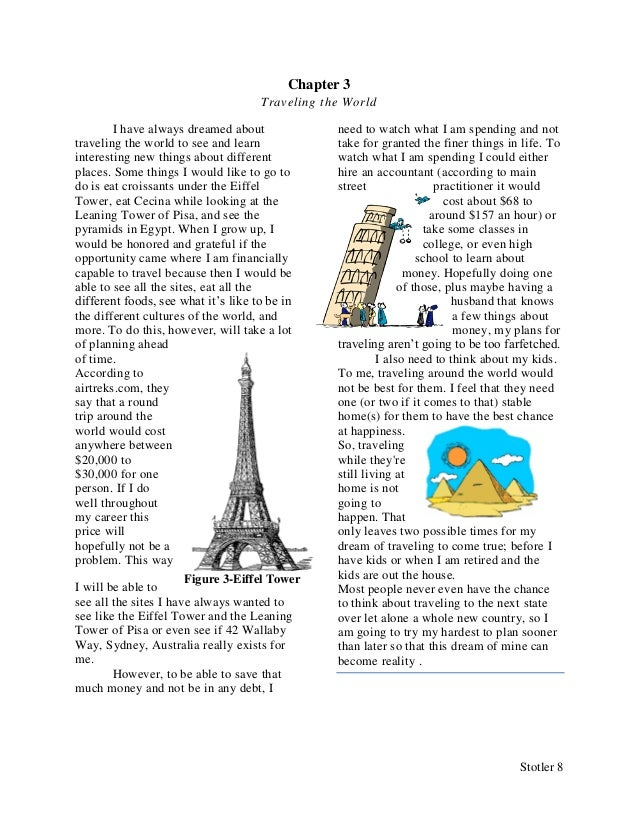 Travel the world essay