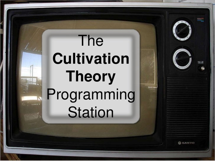 The Cultivation Theory Programming Station<br />