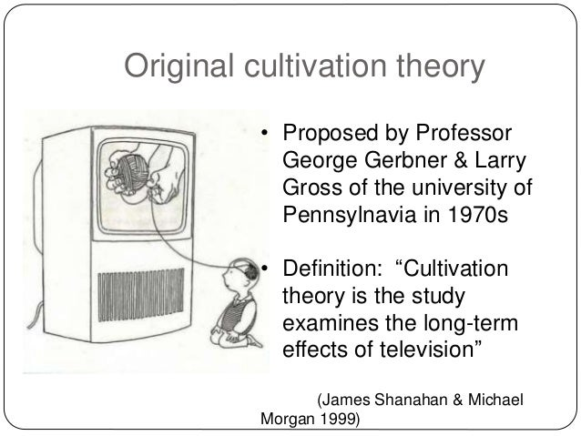 Cultivation Theory And Case Studies
