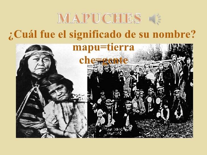 Cultura aborigen mapuche
