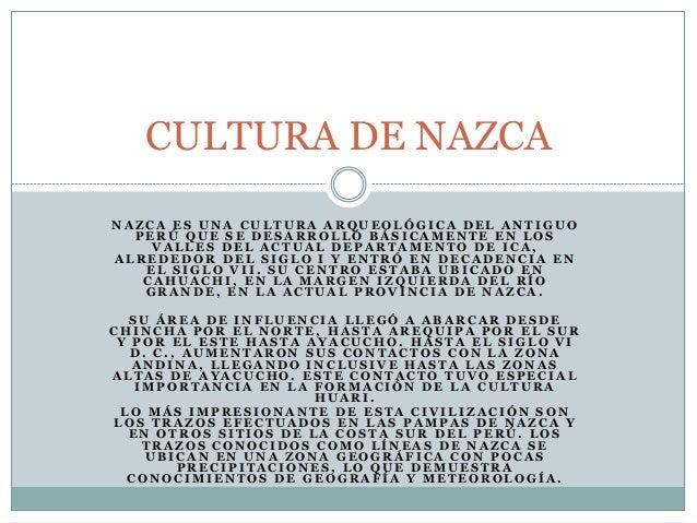 Cultura de nazca