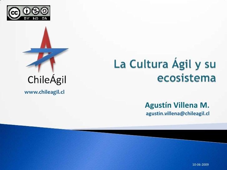 Cultura Agil y su Ecosistema