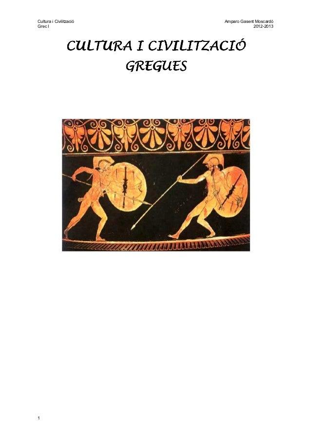 Cultura i literatura gregues