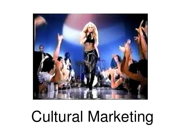 Cultural Marketing