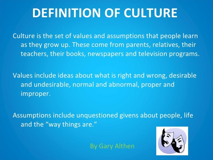 own self awareness and cultural background in • learn about cultures different than your own  self-awareness requires a  to everyone with that cultural background • awareness is one of the keys.