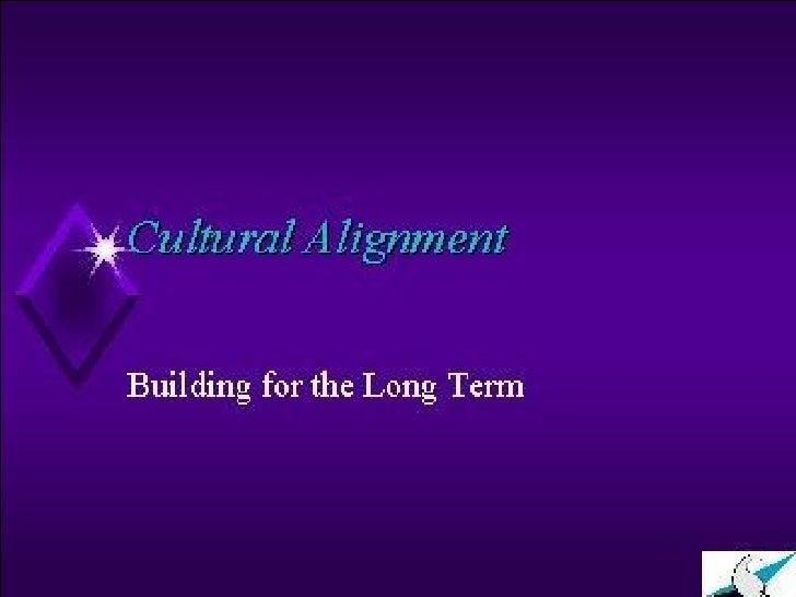 Cultural Alignment