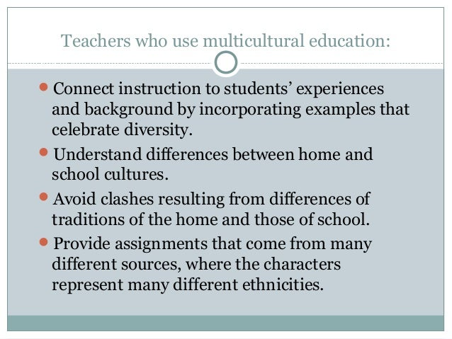 integrative essay on diversity in education essay The integrative paper represents the culmination of your generalist practice, social work values and ethics, social and economic justice, diversity, and.