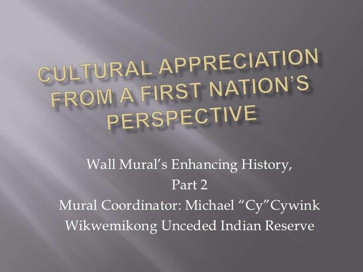 Cultural appreciation.wall murals.2