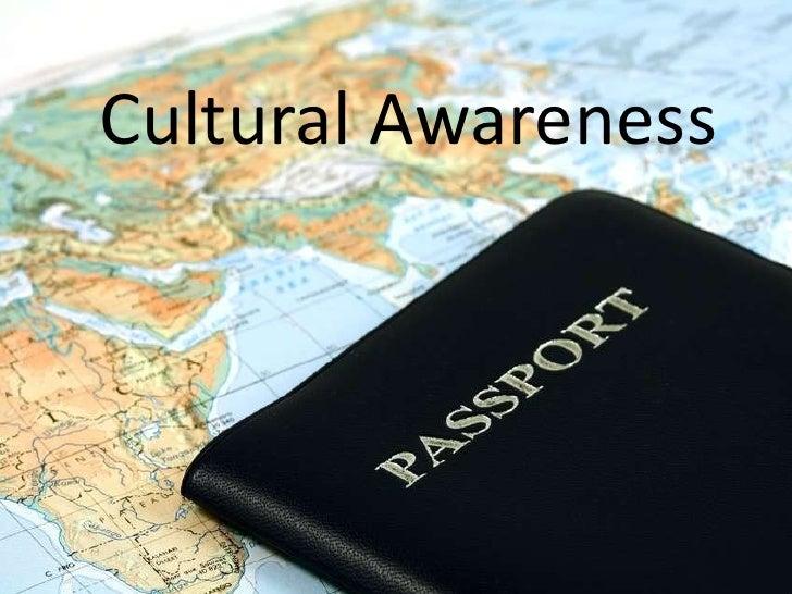 Cultural awareness - 116.6KB
