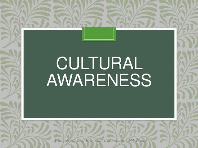 Cultural Awareness - 75.4KB