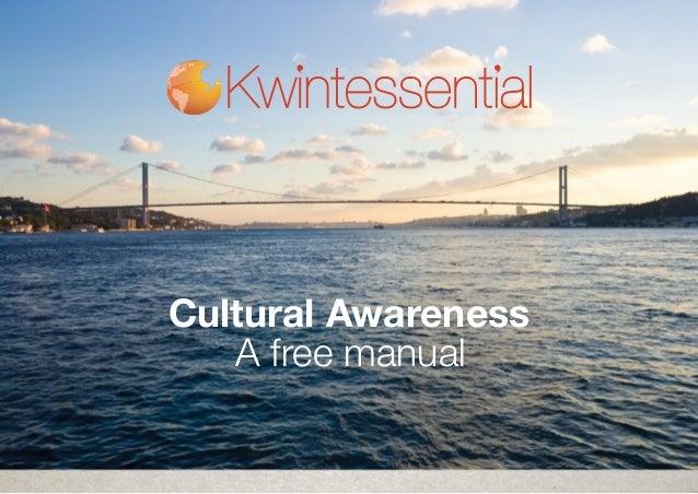 Cultural Awareness A free manual