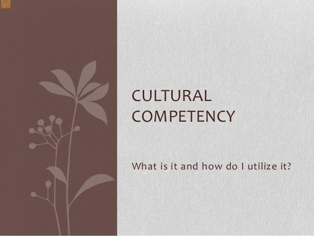 cultural competency 2 essay
