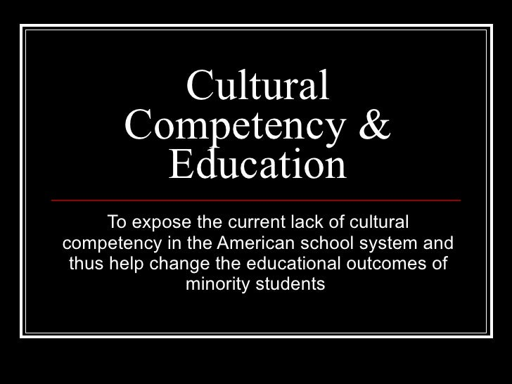 Cultural Competency & Education
