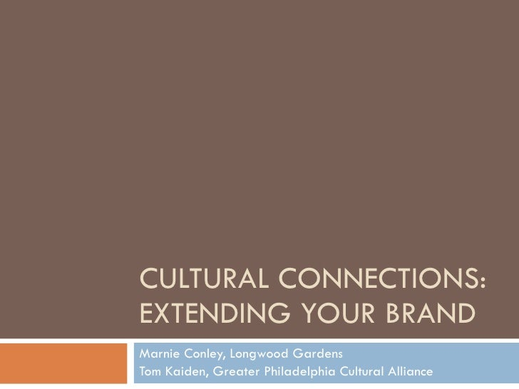 Cultural Connections: Expanding Your Brand