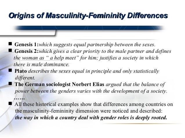 the difference between femininity and masculinity I'm going to begin by saying that obviously there's a vast difference between  feminine and masculine energy, but they can be summed up as.